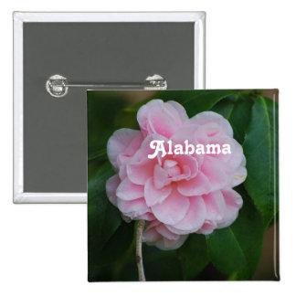 Camelia Flowers Pinback Button