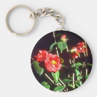Camelia Japonica A. Audusson (Common Camellia) Pin Keychain