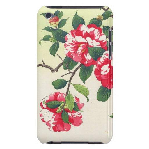 Camelia Nishimura Hodo ukiyo-e  flowers art Case-Mate iPod Touch Case