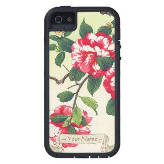 Camelia Nishimura Hodo ukiyo-e  flowers art iPhone SE/5/5s Case