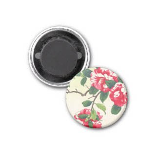 Camelia Nishimura Hodo ukiyo-e flowers art Refrigerator Magnets