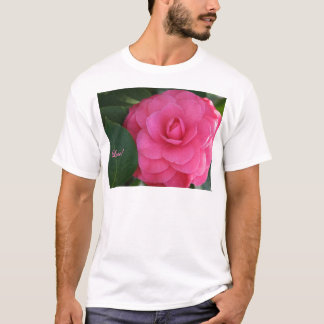 Camelia, Pink, with love! T-Shirt