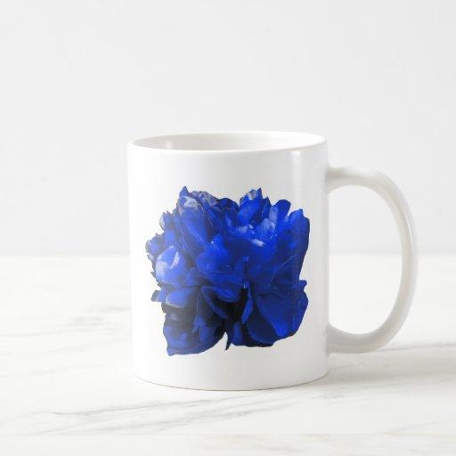 Camelia Pop Blue Coffee Mug