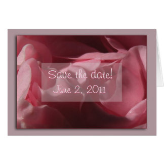 """Camelia rosada """" reserva tarjeta de la fecha"""""""