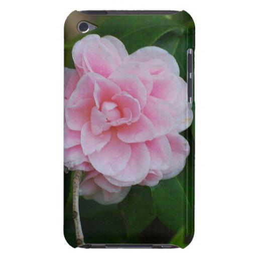 Camelia rosado bonito iPod Case-Mate fundas