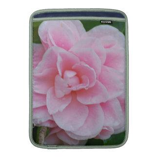 Camelia rosado floreciente funda macbook air