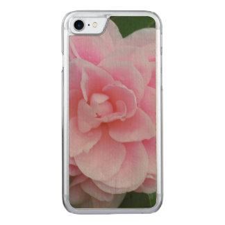 Camelia rosado floreciente funda para iPhone 7