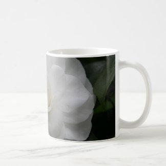 Camelia, white coffee mug