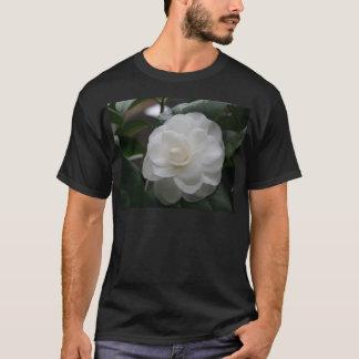 Camelia, white T-Shirt