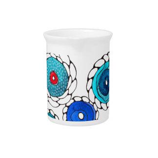 camelias beverage pitcher