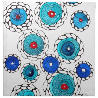 camelias cloth napkin