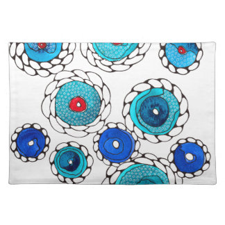 camelias cloth placemat