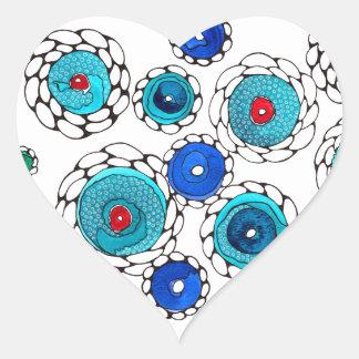 camelias heart sticker