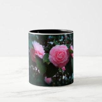 Camelias Two-Tone Coffee Mug