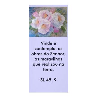 CAMÉLIAS, Vinde e contemplai as obras do Senhor... Rack Card