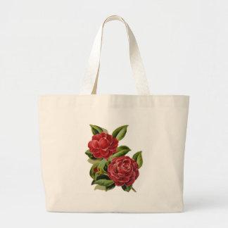 Camellia #1 large tote bag
