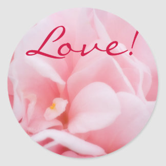 Camellia Abstract, Love! Stickers