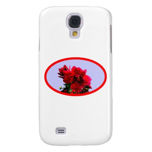 Camellia bg Blue The MUSEUM Zazzle Gifts Samsung Galaxy S4 Case