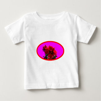 Camellia bg Magenta The MUSEUM Zazzle Gifts Baby T-Shirt
