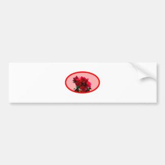 Camellia bg Pink The MUSEUM Zazzle Gifts Car Bumper Sticker