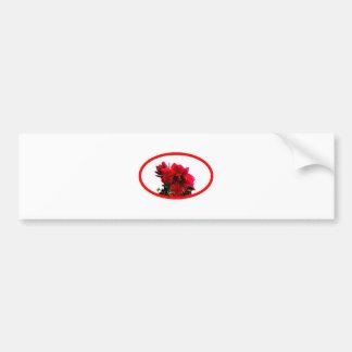 Camellia bg Transp The MUSEUM Zazzle Gifts Car Bumper Sticker