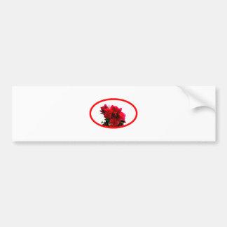Camellia bg White The MUSEUM Zazzle Gifts Car Bumper Sticker