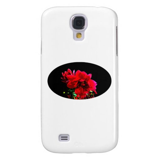 Camellia Black The MUSEUM Zazzle Gifts Samsung Galaxy S4 Case