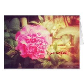 Camellia Blossom in Smangus Card