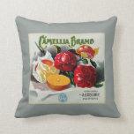 Camellia Brand Oranges Pillows