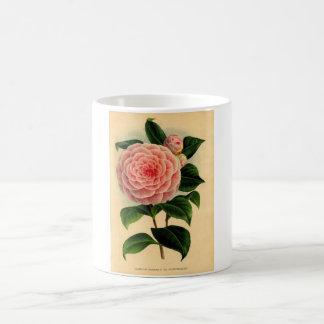 camellia coffee mug