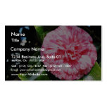 Camellia Double-Sided Standard Business Cards (Pack Of 100)