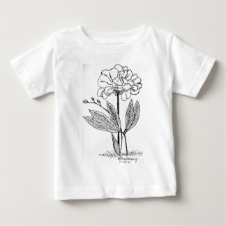 Camellia Drawing Baby T-Shirt