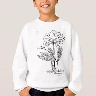 Camellia Drawing Sweatshirt