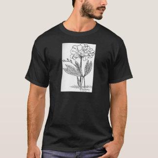Camellia Drawing T-Shirt