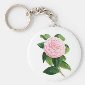 Camellia, Duchesse De Nassau Keychain