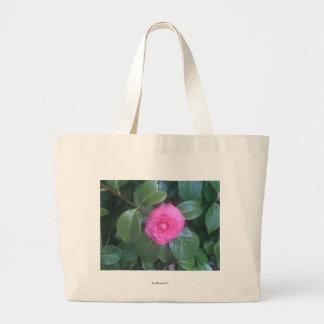 Camellia Flower Large Tote Bag