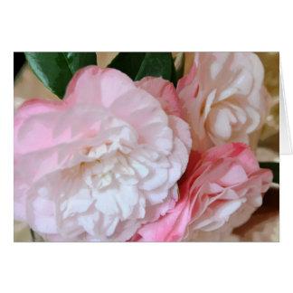 Camellia Flower Teacher Appreciation Card