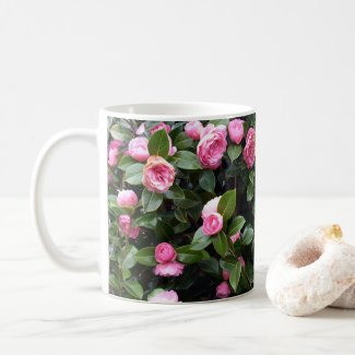 Camellia Flowers Coffee Mug