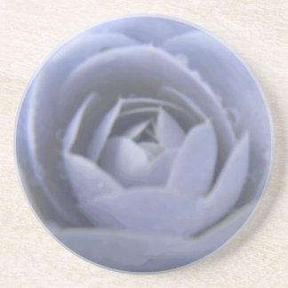 Camellia Frozen Beauty Flower Coasters