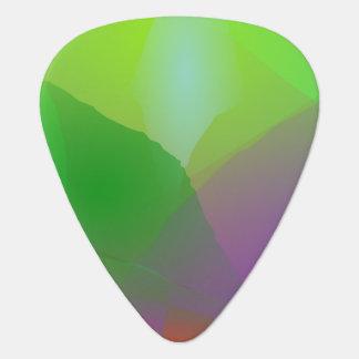 Camellia Green Haze Guitar Pick