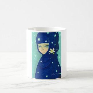 Camellia Ikeda Shuzo oriental lady girl painting Coffee Mug