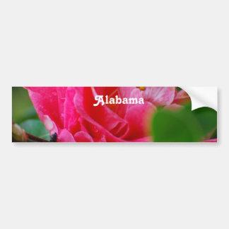 Camellia in Alabama Car Bumper Sticker