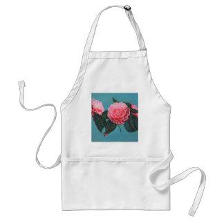 Camellia Japonica Sky Adult Apron