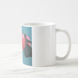 Camellia Japonica Sky Coffee Mug