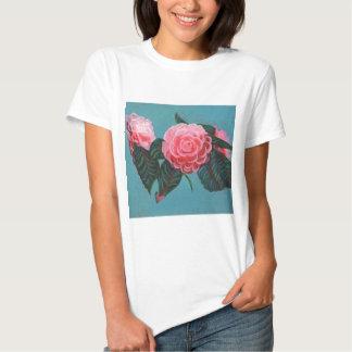 Camellia Japonica Sky Tee Shirt