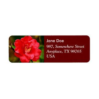 Camellia Label