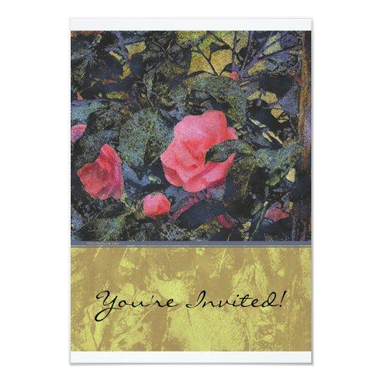 Camellia Panels Invitation