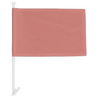 Camellia Pink in an English Country Garden Car Flag