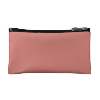 Camellia Pink in an English Country Garden Cosmetic Bag
