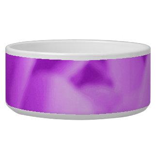 Camellia Purple Dog Bowl